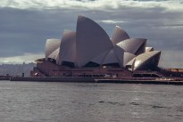 Multiple curves of the iconic Sydney Opera House
